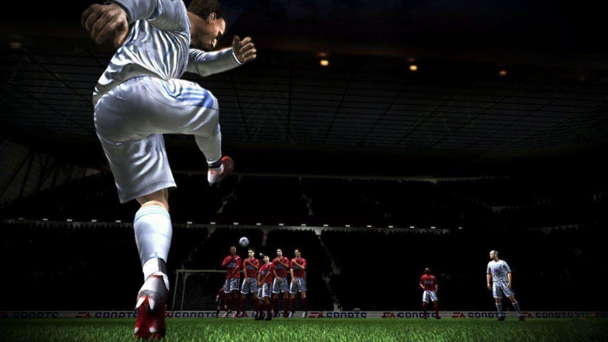 FIFA 10 – Free Kick Wallpaper