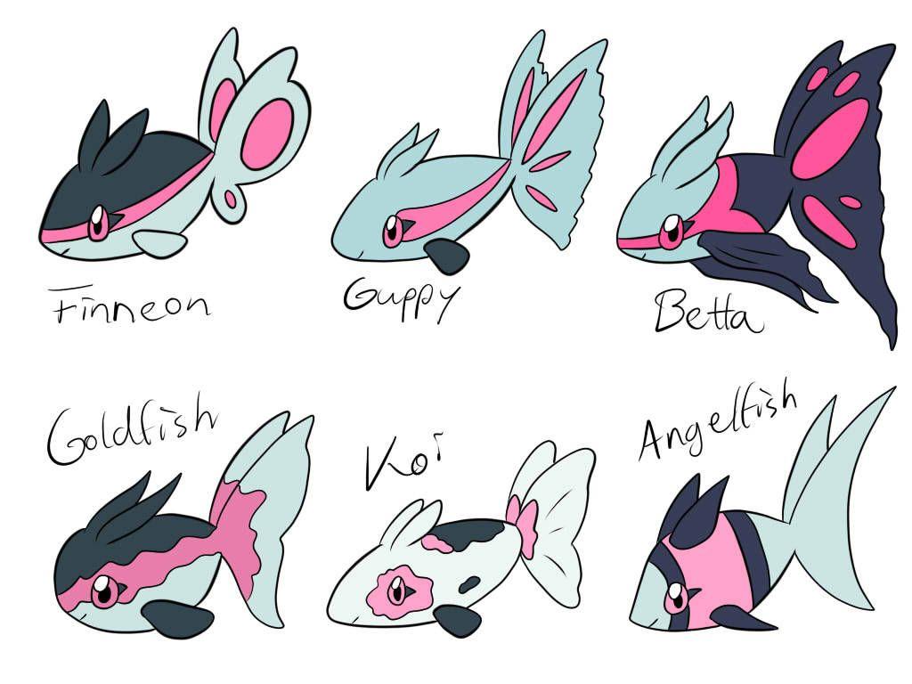 Pokemon-variations — randomfluffybird: I just wanted to make a betta…