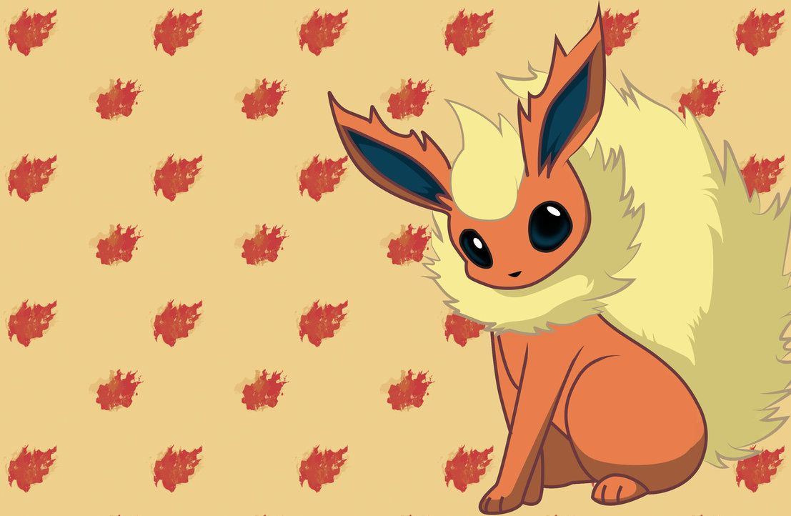 Flareon wallpaper (2880 x 1880) by CaptureStar on DeviantArt