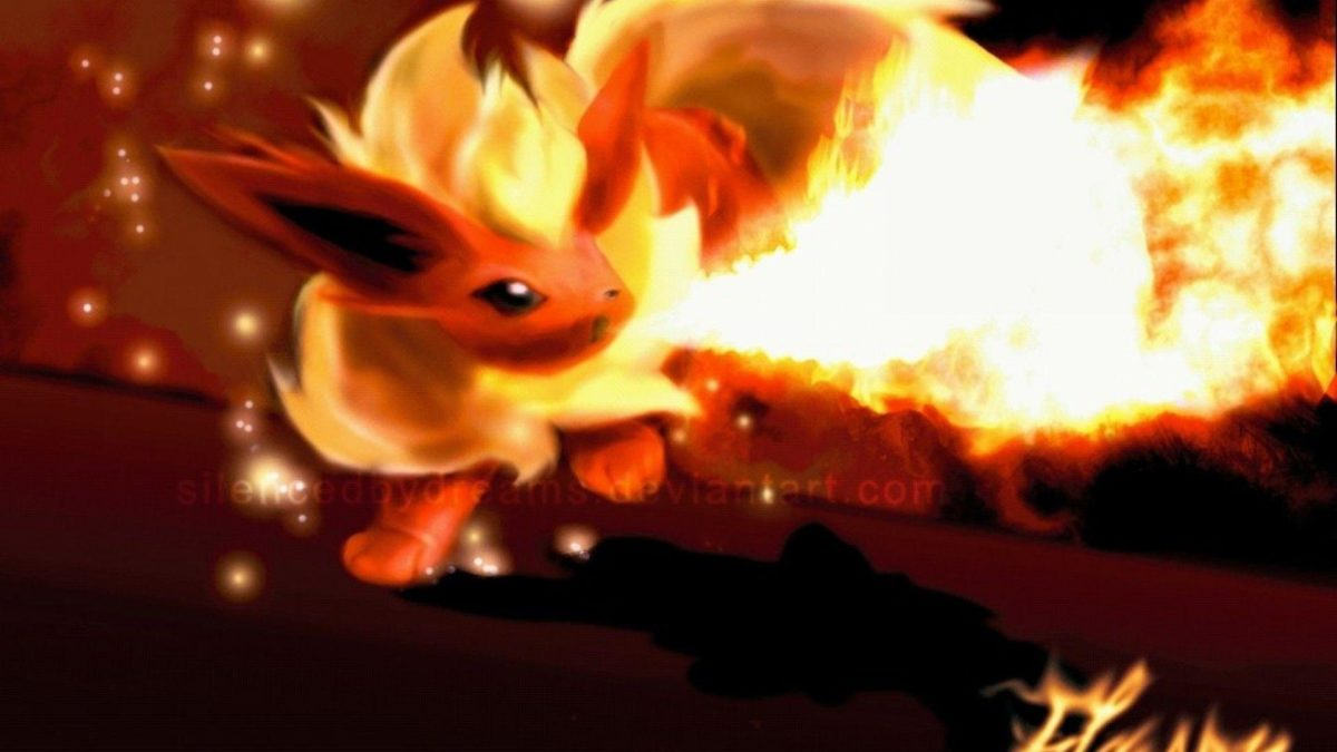 ScreenHeaven: Flareon Pokemon desktop and mobile background
