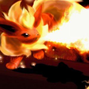 download ScreenHeaven: Flareon Pokemon desktop and mobile background