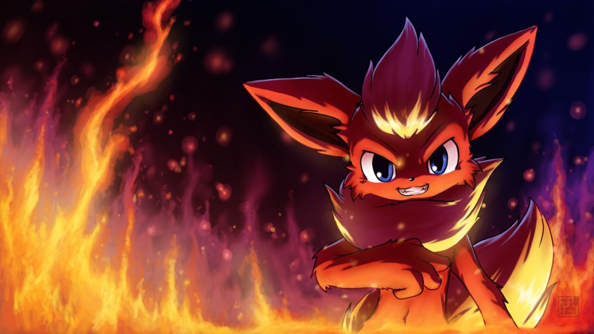 Flareon – Pokémon – Wallpaper #1508036 – Zerochan Anime Image Board