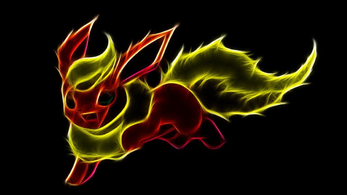 Flareon by TheBlackSavior on DeviantArt