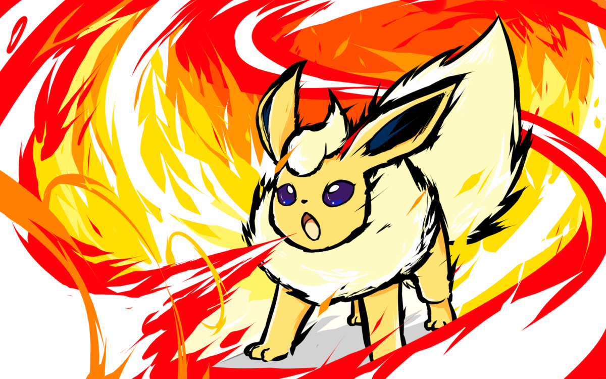 Shiny Flareon | Fire Spin by ishmam on DeviantArt