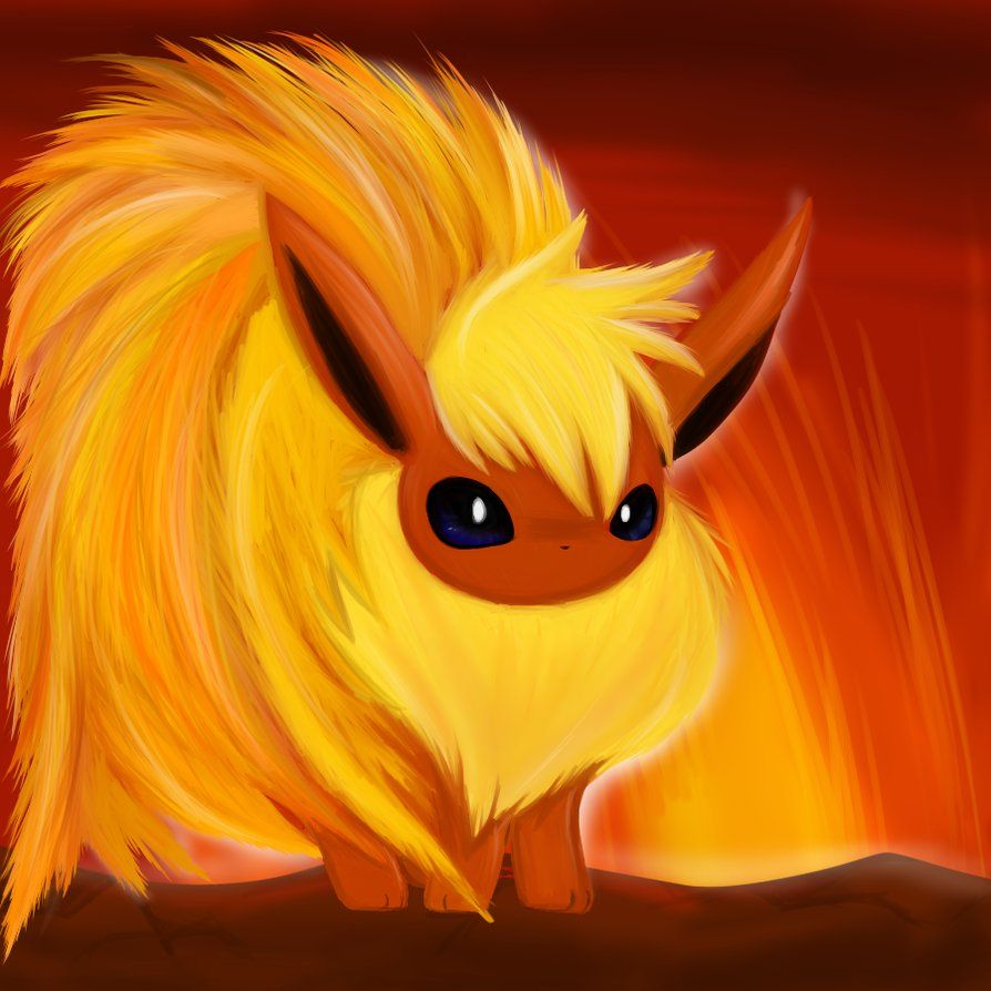 Flareon by Tenicity on DeviantArt