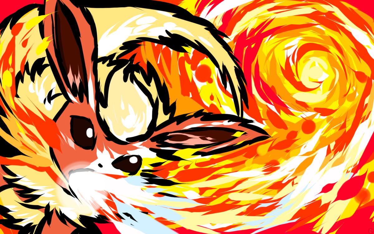 Flareon | Fire Spin by ishmam.deviantart.com on @deviantART …
