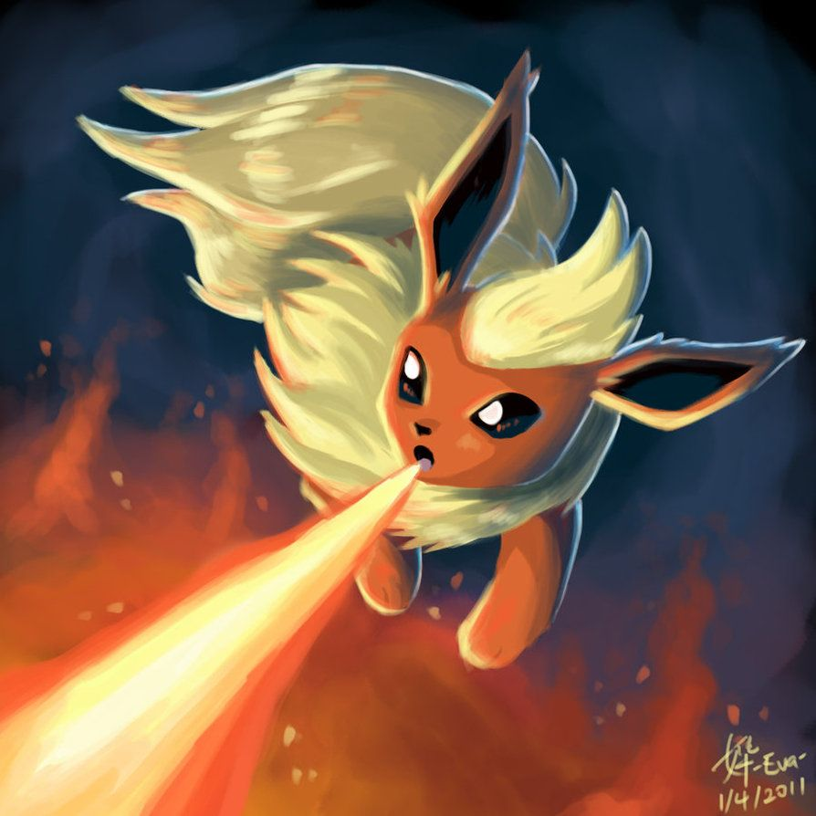 Flareon by CygnusLeo on DeviantArt