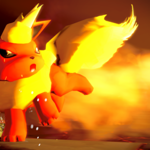 download Flareon in a Battle [Source Filmmaker Poster] : pokemon