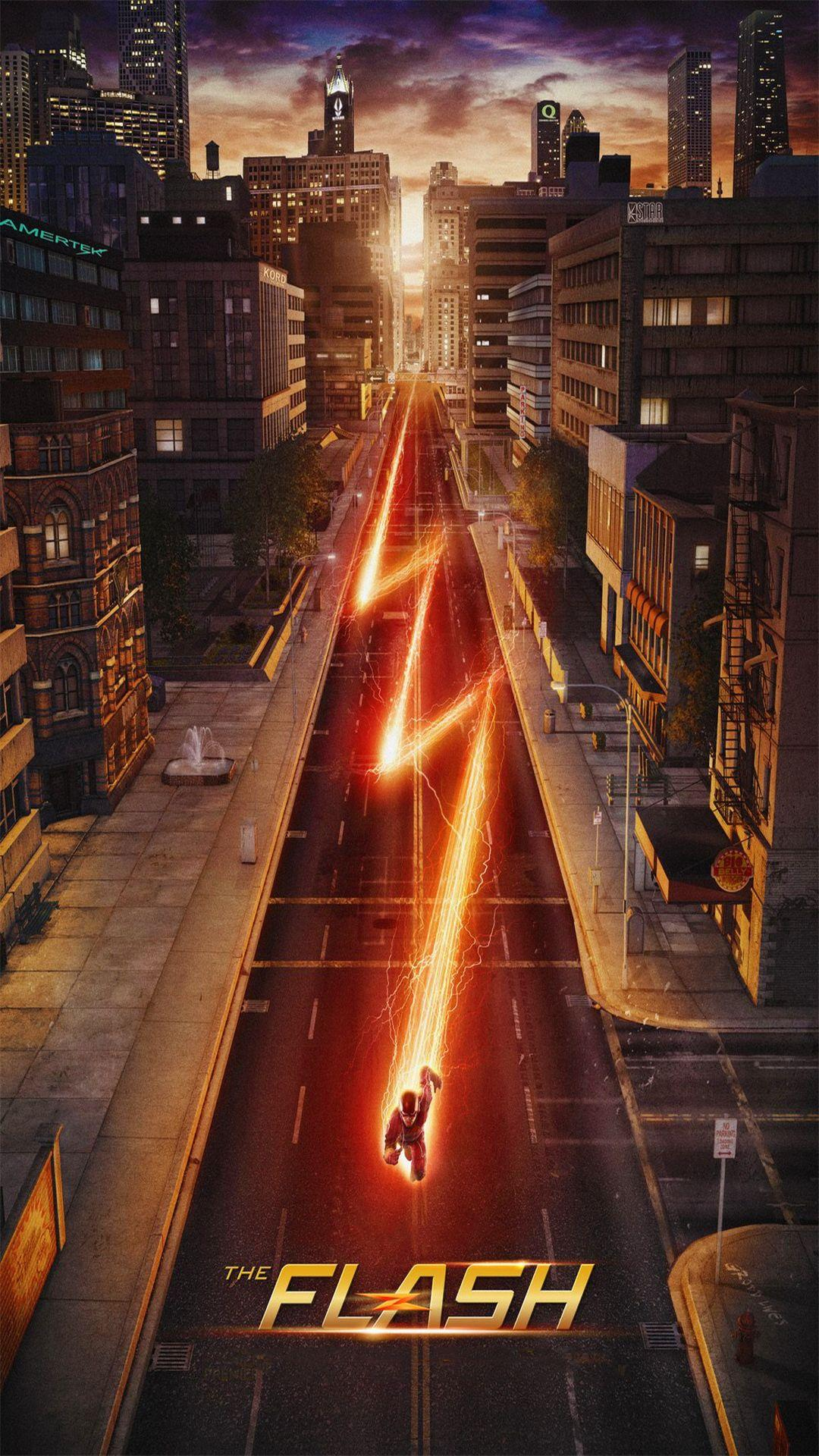 Wallpaper Weekends: The Flash for Your iPhone 6 Plus | MacTrast