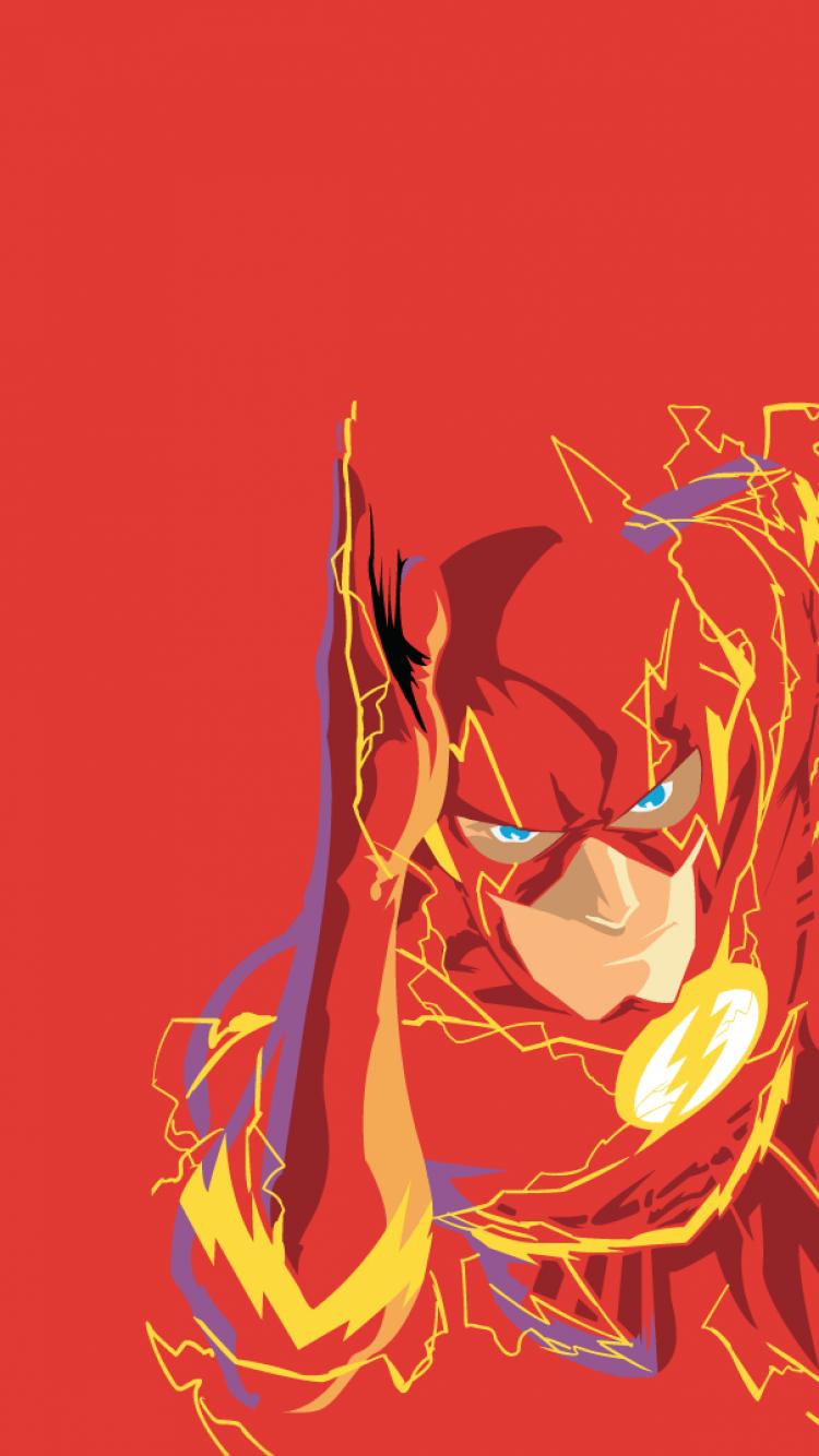 iPhone 6 – Comics/Flash – Wallpaper ID: 98805