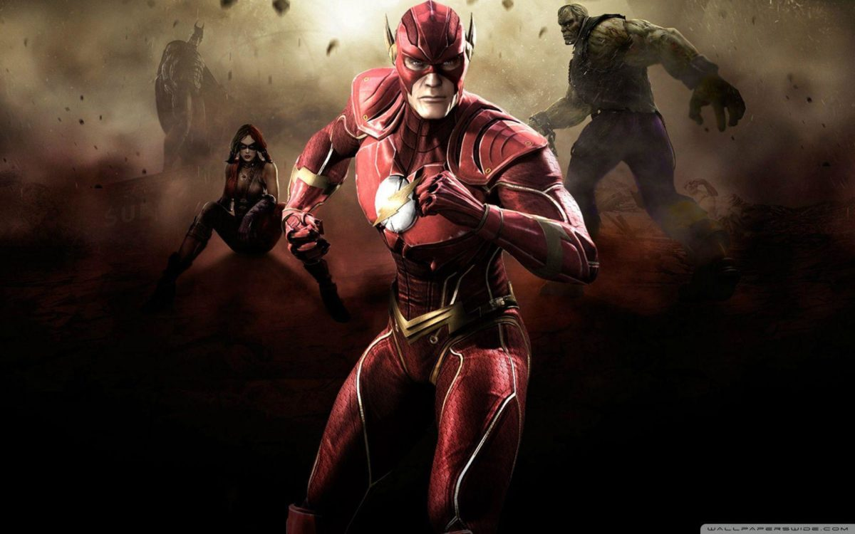 Injustice Gods Among Us – Flash HD desktop wallpaper : Widescreen …