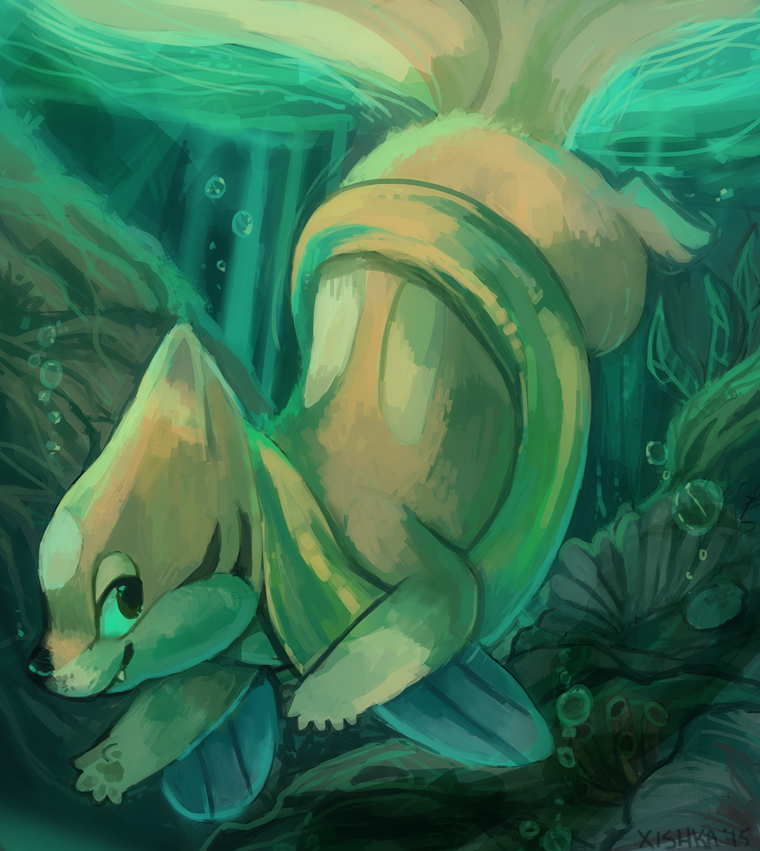 Xishka Arts >>> Look! It's a male floatzel! | Pokemon2 | Pinterest …