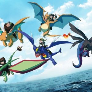 download Pokemon how to train your dragon flygon charizard dragonite hiccup …