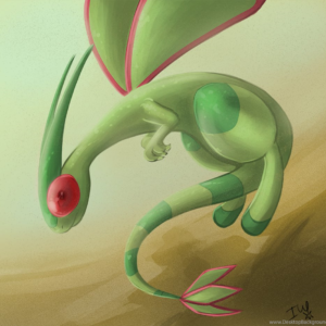 download Pokemon Challenge Day 11 :Flygon: By IscaRedspider On DeviantArt …