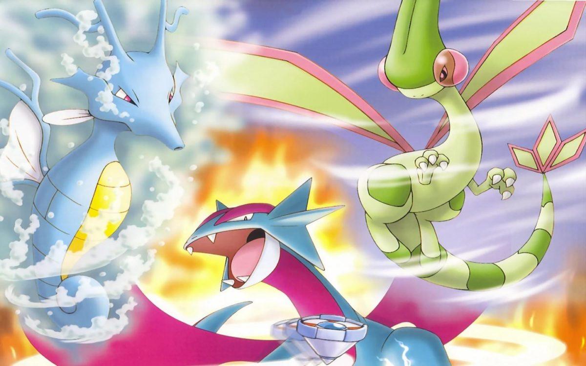 Flygon (Pokemon) wallpapers HD for desktop backgrounds