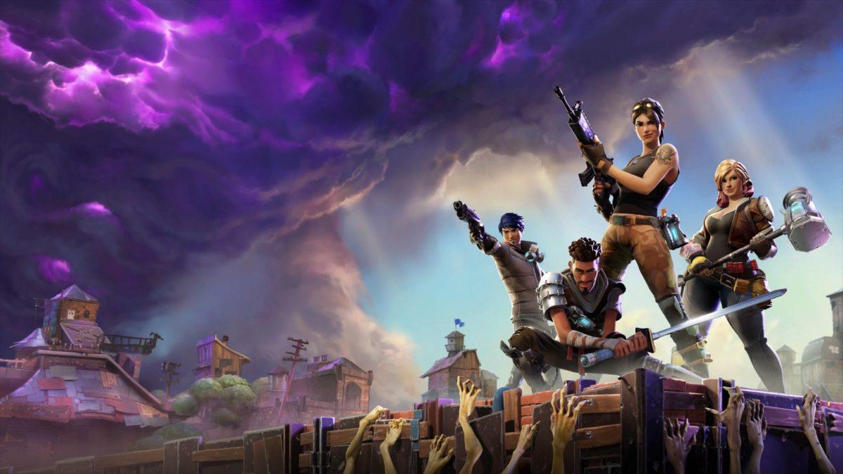 Battle Royale w Fortnite., wallpaper from Fortnite – gamepressure.com