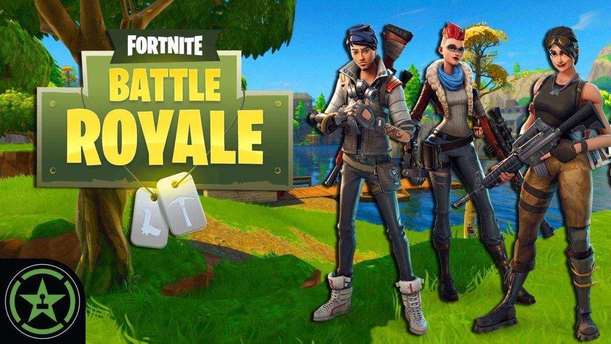 Fortnite: Battle Royale – AH Live Stream