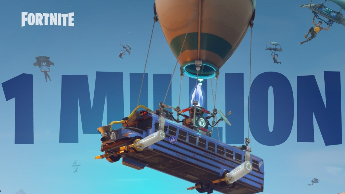 Fortnite: Battle Royale Reaches Over One Million Players in First …