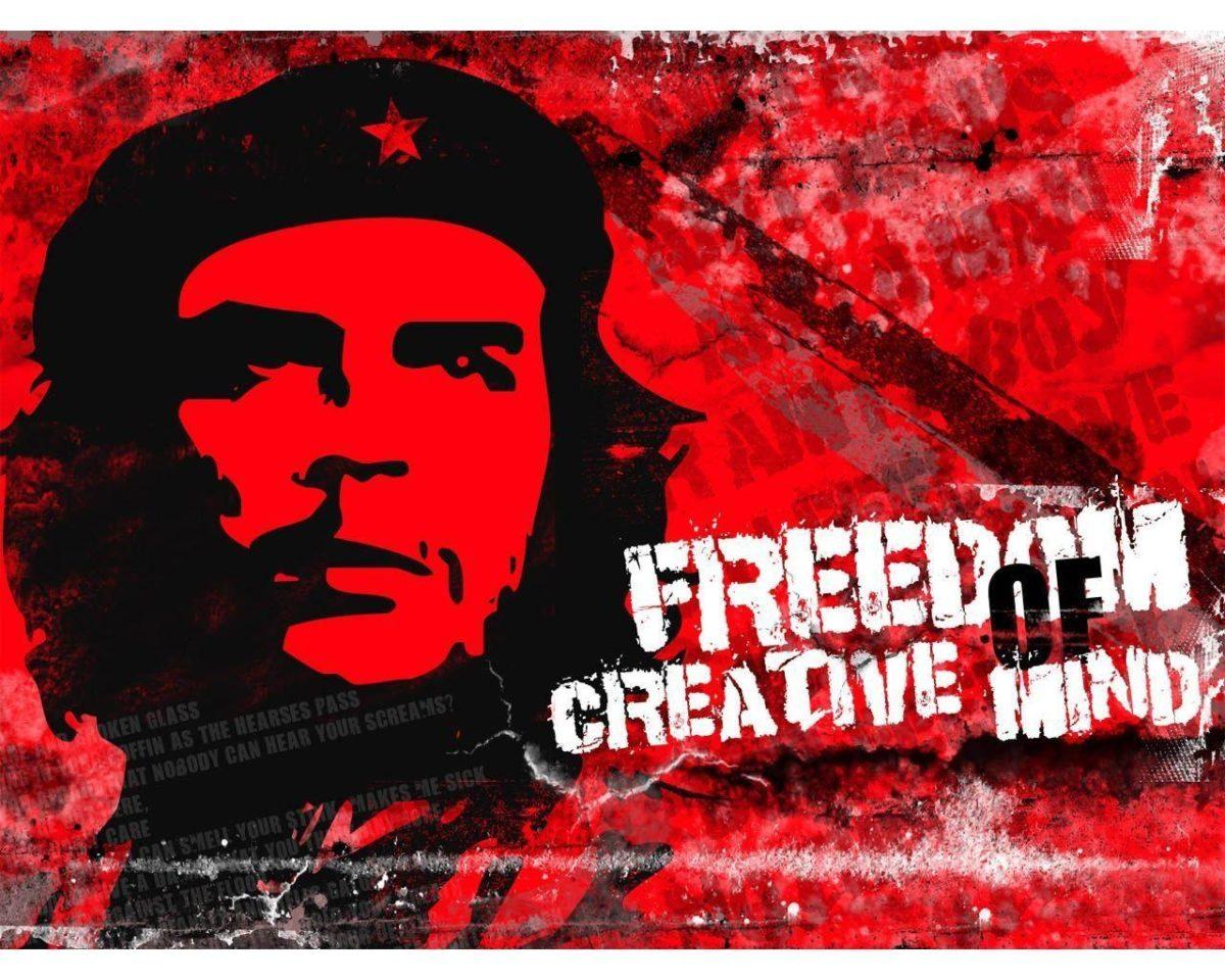 Freedom Ernesto Che Guevara Wallpaper