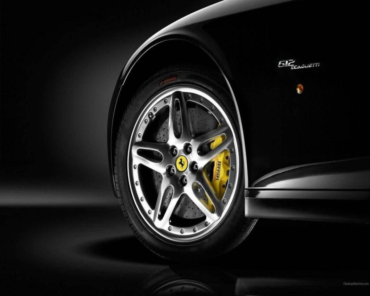 Wallpapers For > Black Ferrari Hd Wallpapers