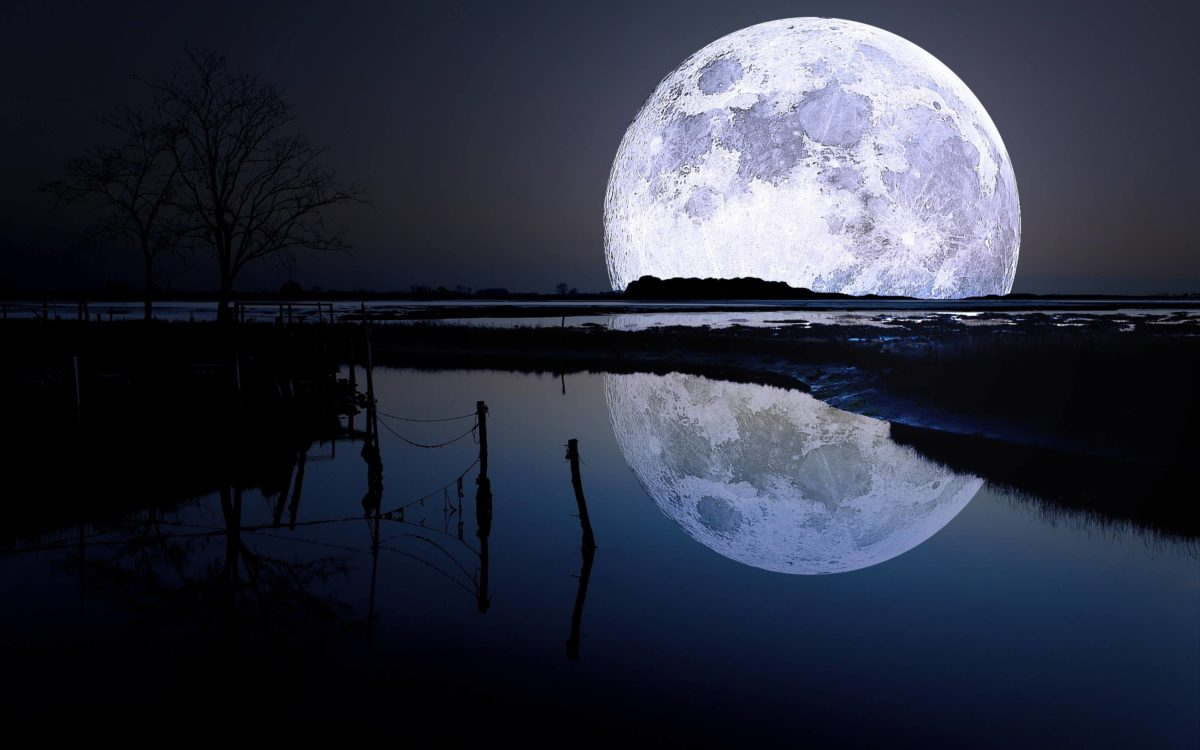 Full moon lagoon Wallpapers | Pictures