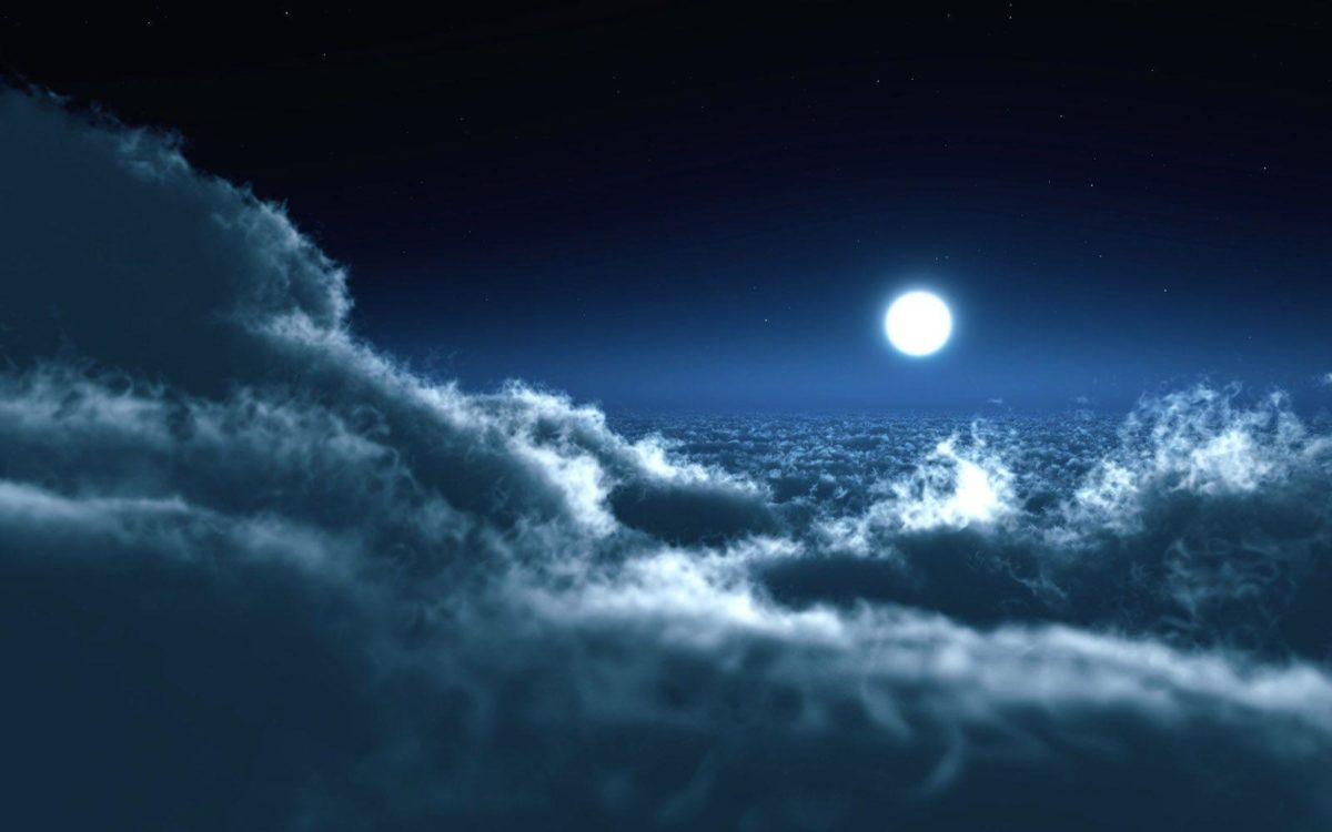Full Moon at Night wallpaper – Nature Wallpapers