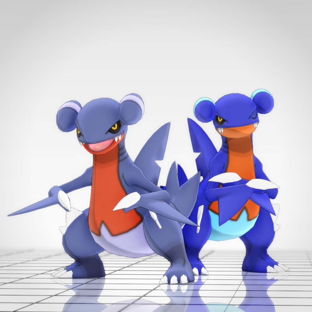 MMD Pokemon – Gabite (XY) DL by MMDSatoshi on DeviantArt