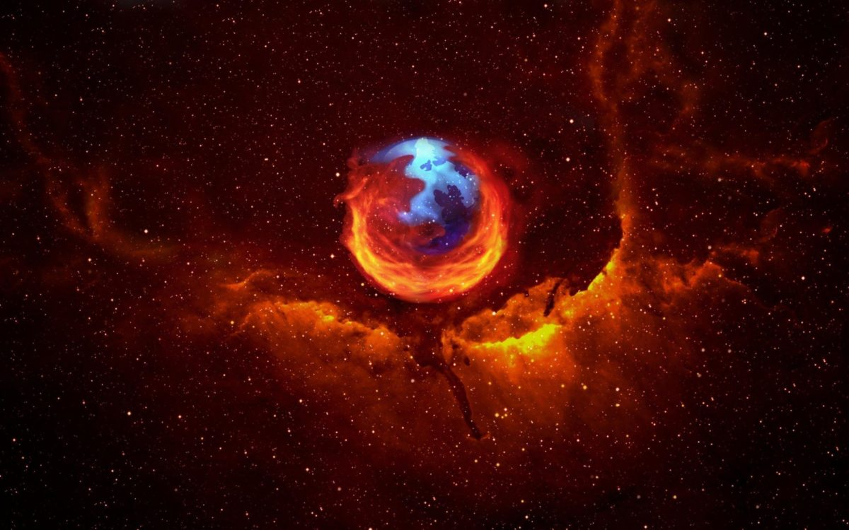 Desktop Wallpaper · Gallery · Computers · Firefox galaxy | Free …