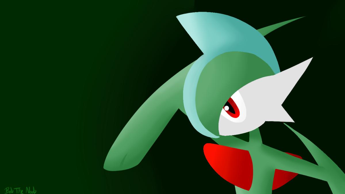 Gallade Wallpaper [oc] : pokemon