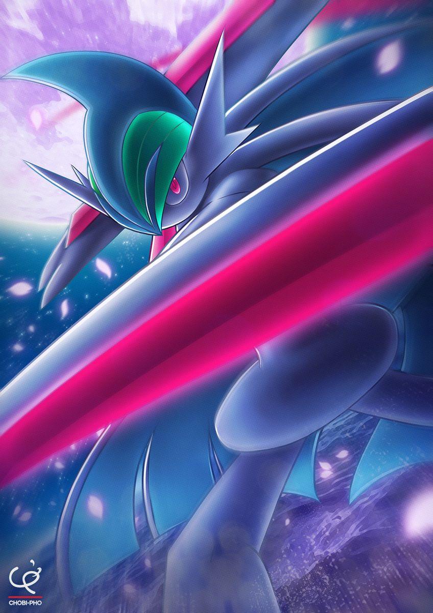 Mega Gallade by chobi-pho | Pokémon | Know Your Meme