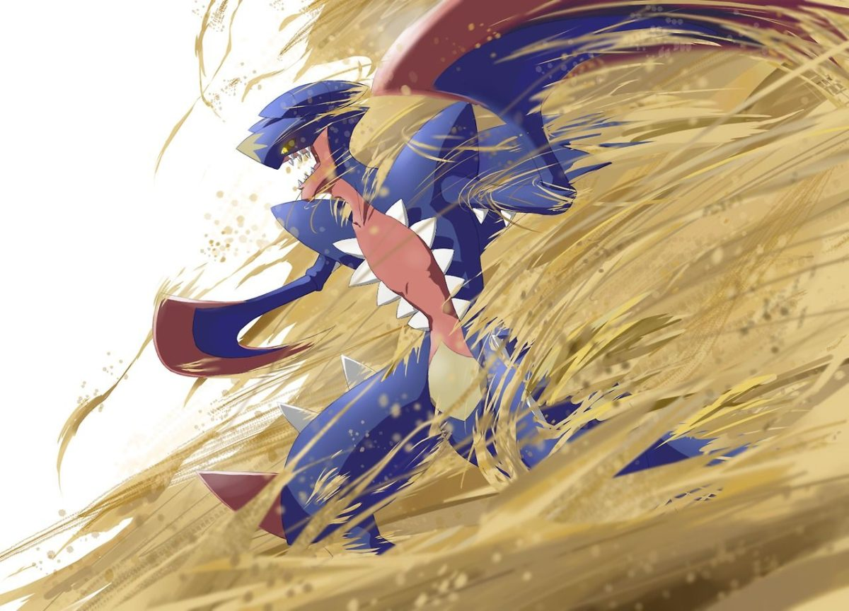 Whoever the artist is, they did Mega Garchomp perfect! – Imgur