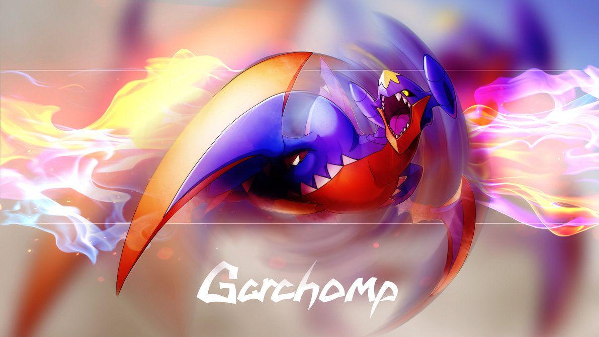 Garchomp Wallpaper by DarkunePlays on DeviantArt