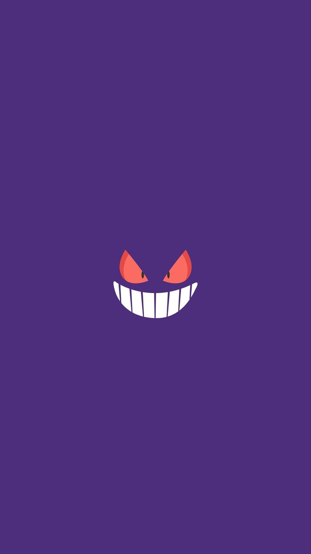 Gengar Pokemon Character iPhone 6+ HD Wallpaper HD – Free Download …
