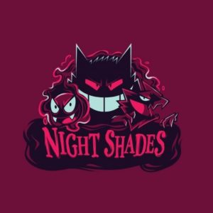 download Pokemon minimalistic night gengar haunter gastly shades wallpaper …