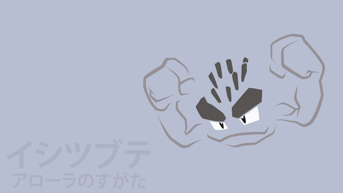 Alolan Geodude by DannyMyBrother on DeviantArt