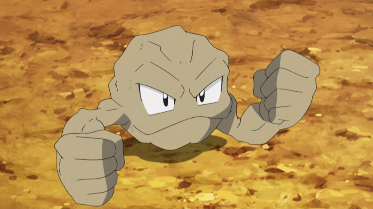 Image – Brock Geodude anime.png | Pokémon Wiki | FANDOM powered by …