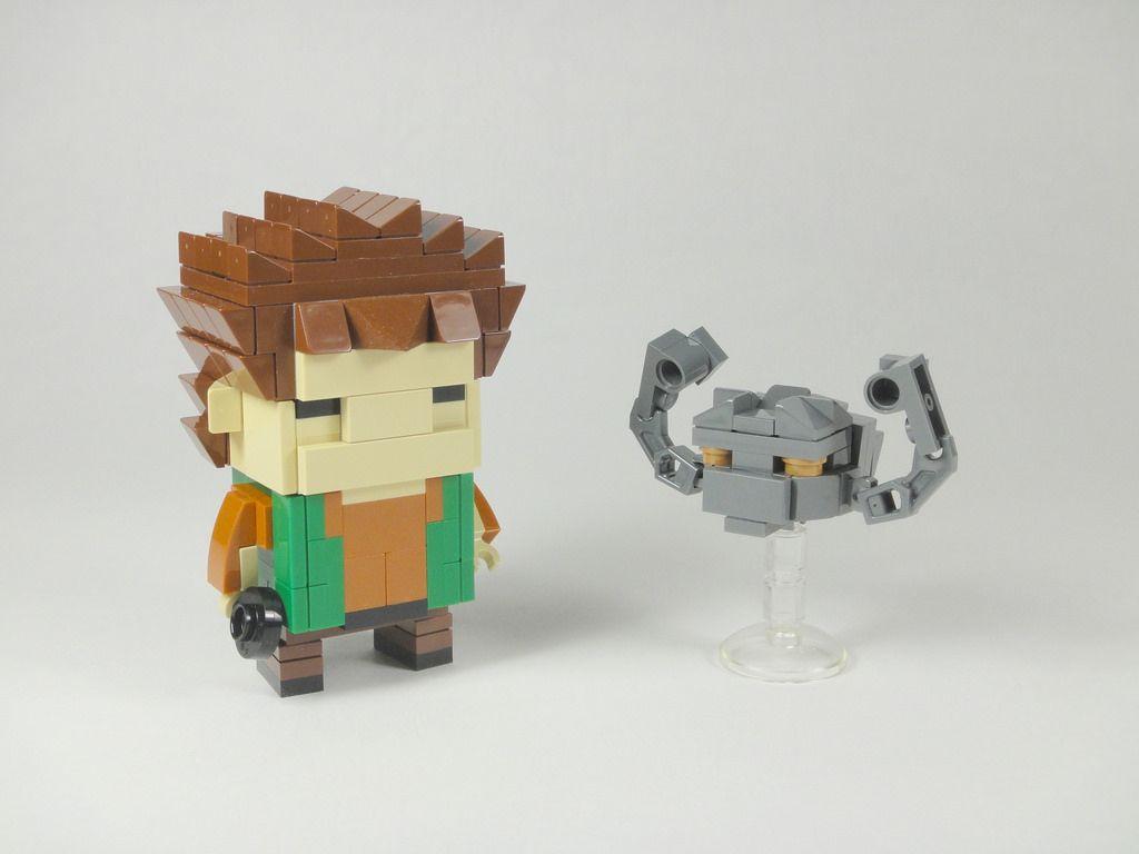 Brock 2.0 & Geodude | More pics at www.brickshelf.com/cgi-bi… | Flickr