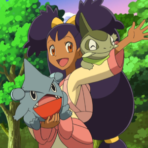 download Image – Iris and Gible.png | Pokémon Wiki | FANDOM powered by Wikia