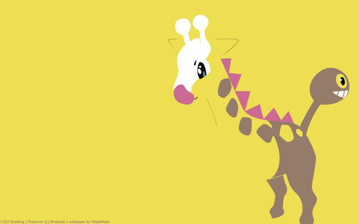 Girafarig Pokemon HD Wallpapers – Free HD wallpapers, Iphone …