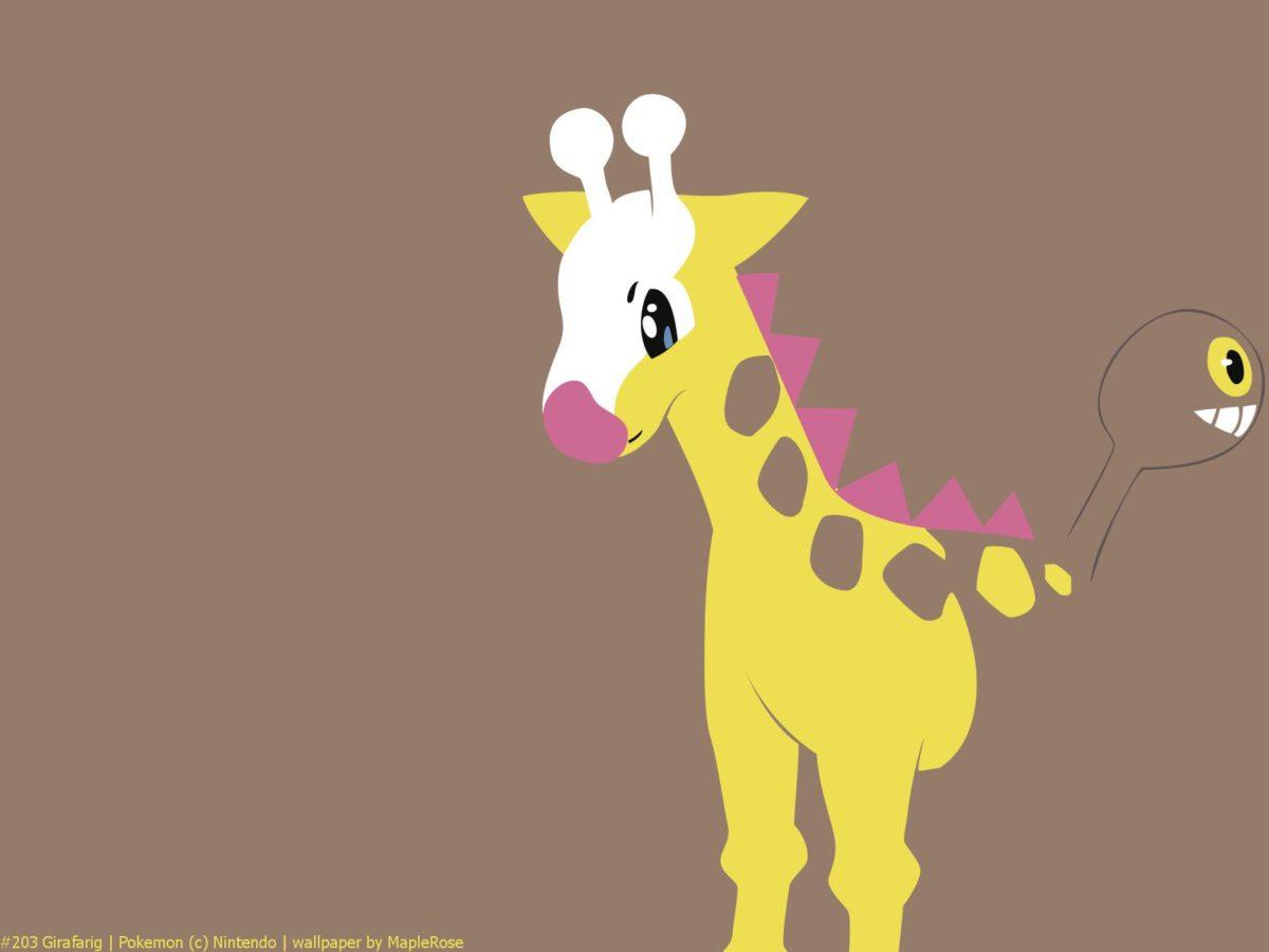 203 Girafarig   PokéWalls
