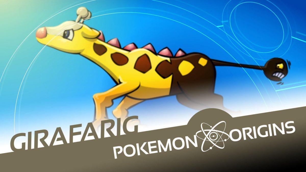 Pokémon Origins   Girafarig – YouTube