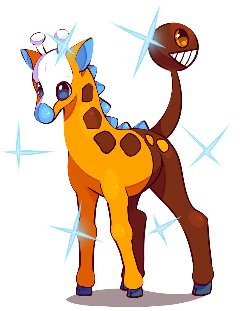 Shiny Girafarig by Takurapi on DeviantArt