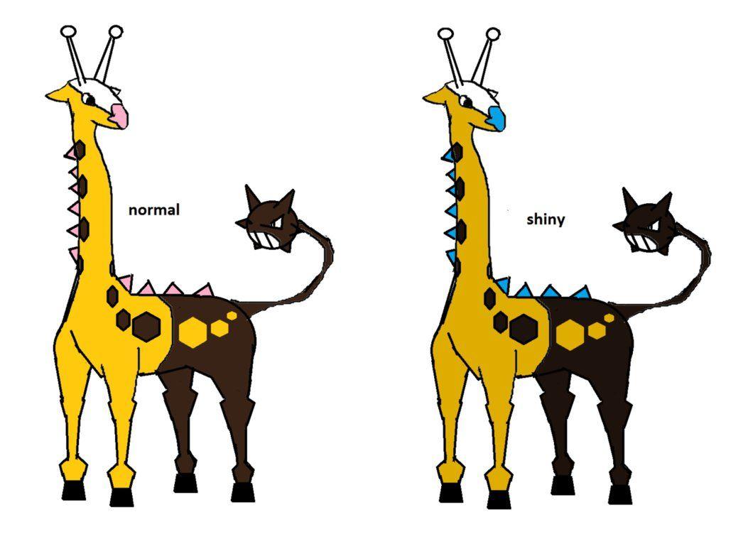 Oruenfarig (evo of Girafarig) by supahcomicbro on DeviantArt