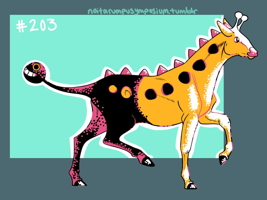 Crystal Girafarig by NoitarumpuArt on DeviantArt