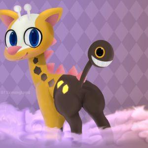 download ArtStation – Girafarig, Tamara Daley
