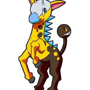 download Psyched Up Collab: Shiny Girafarig by osarumon on DeviantArt