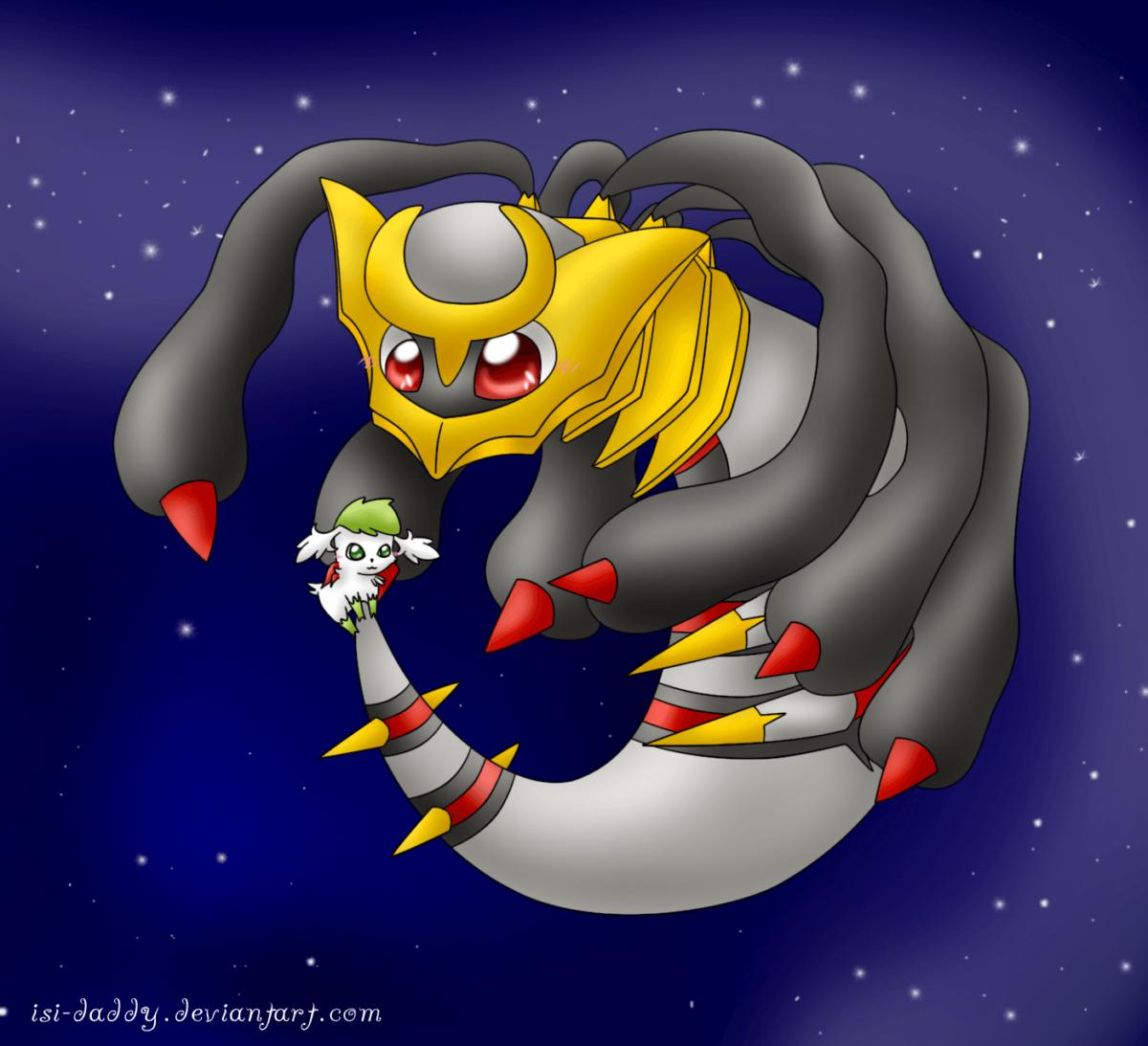 Pokemon Couples!! images Giratina and Shaymin HD wallpaper and …