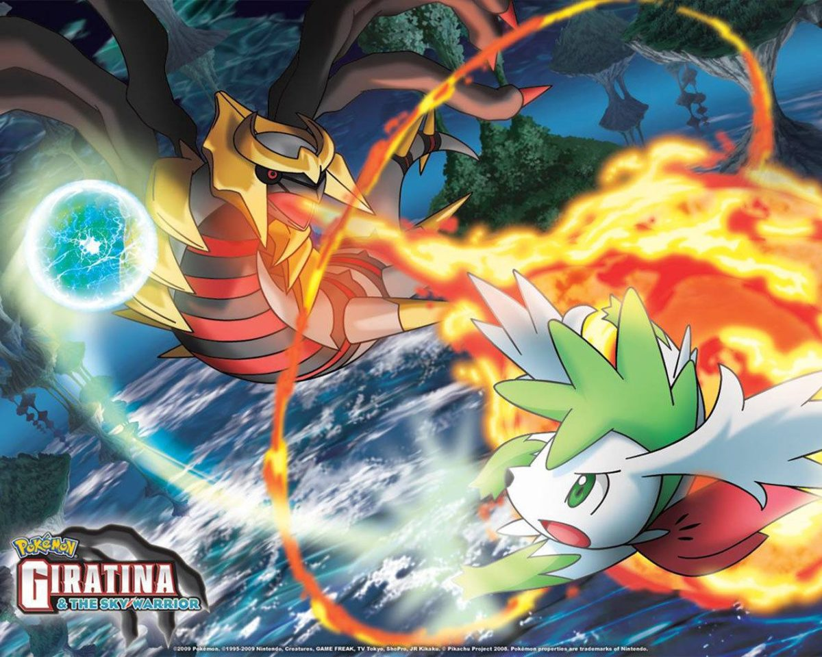 Pokémon images Sky Shaymin and Giratina HD wallpaper and background …
