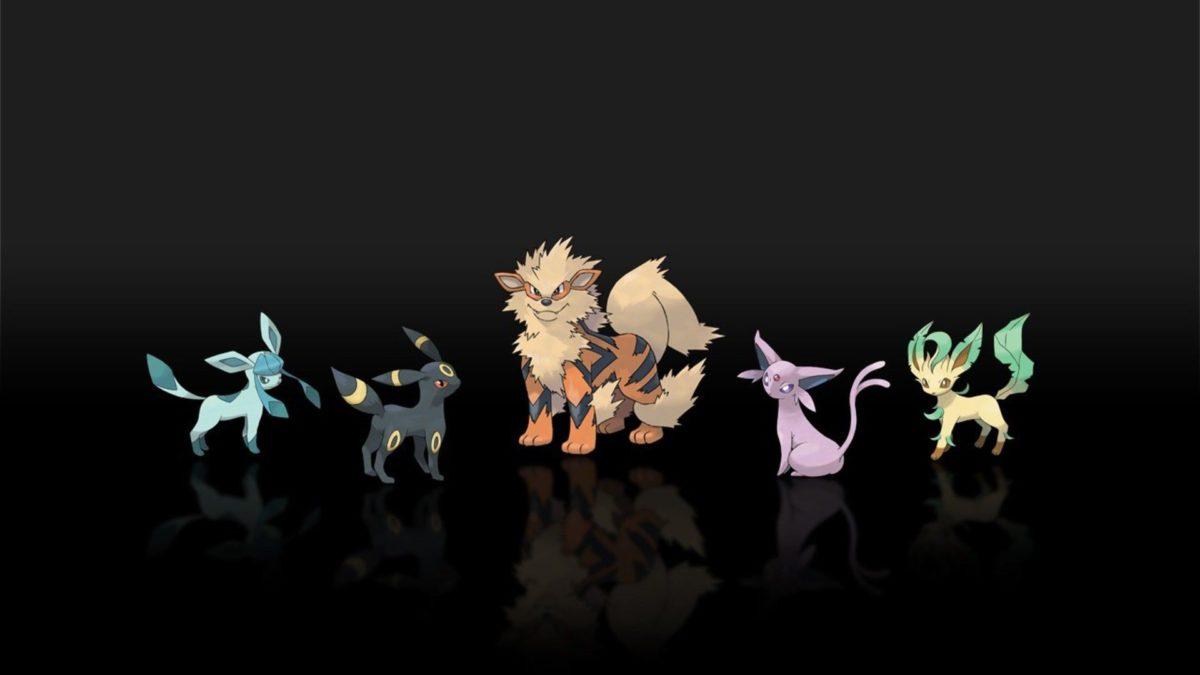 Pokemon espeon jolteon arcanine leafeon glaceon wallpaper …