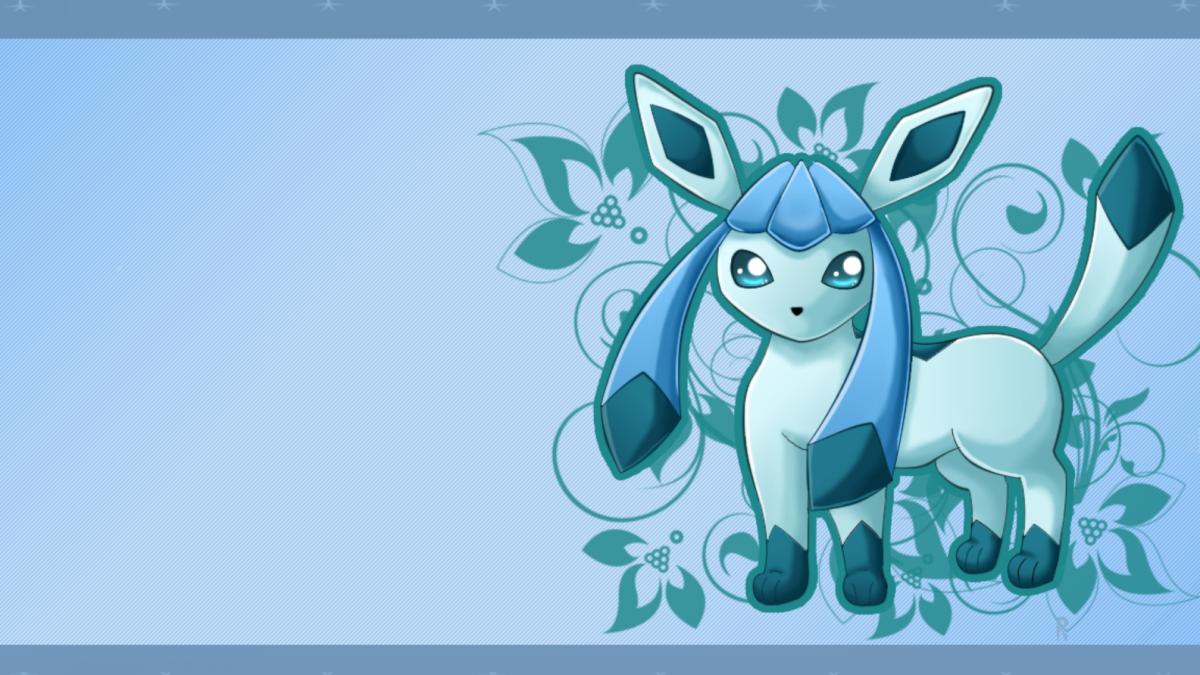 ScreenHeaven: Glaceon Pokemon desktop and mobile background